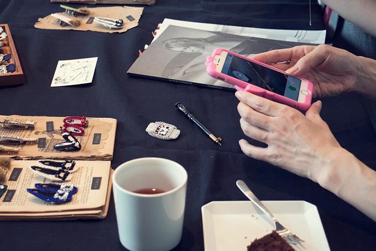 フラワー教室開業 ビジネスの仕組み作りとweb集客で売れるスクールへ 東京 世田谷 KOLME(コルメ) 5/16 Immana Paris刺繍ワークショップ&新作受注お茶会 2019