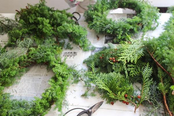 KOLME(コルメ)お家で森林浴!フレッシュグリーンのクリスマスレッスン 2018