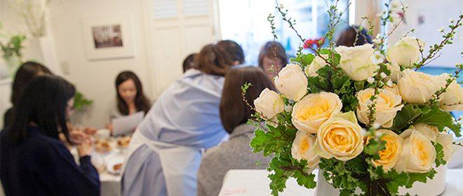 花束とイベント