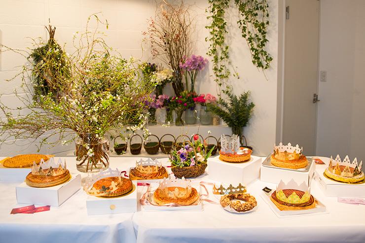 パリスタイルフラワーアトリエ KOLME(コルメ) BOXフラワー&ガレットデロワ食べ比べ イベント