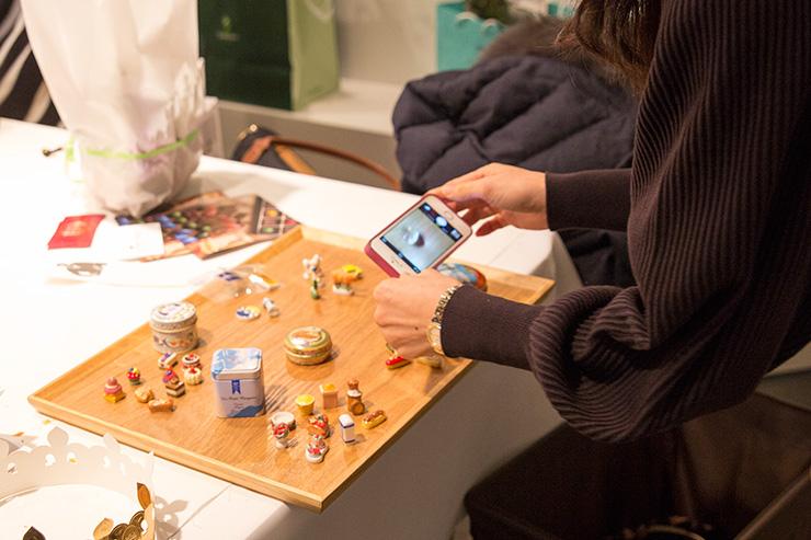パリスタイルフラワーアトリエ KOLME(コルメ) BOXフラワー&ガレットデロワ食べ比べ イベント フェーヴ