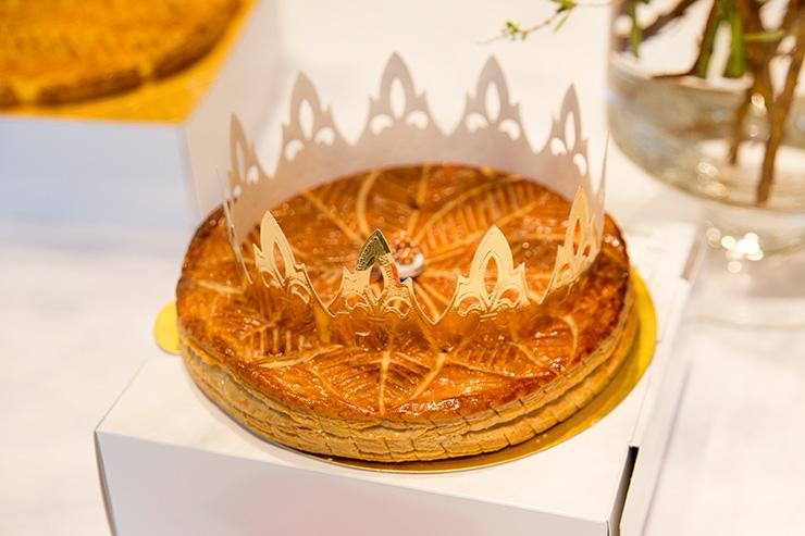 パリスタイルフラワーアトリエ KOLME(コルメ) BOXフラワー&ガレットデロワ食べ比べ イベント アヴランシュゲネー
