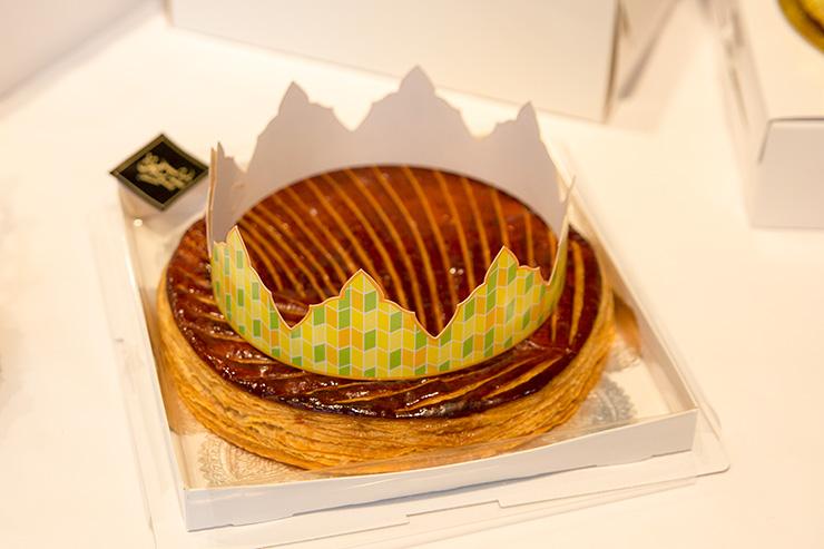 パリスタイルフラワーアトリエ KOLME(コルメ) BOXフラワー&ガレットデロワ食べ比べ イベント パティスリーパリセヴェイユ