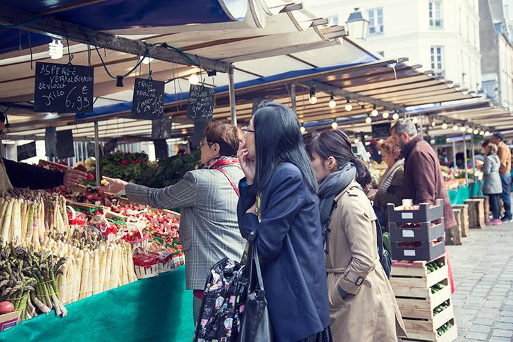 フラワー教室開業 ビジネスの仕組み作りとweb集客で売れるスクールへ 東京 世田谷 KOLME(コルメ)パリ研修2019 アリーグル市場