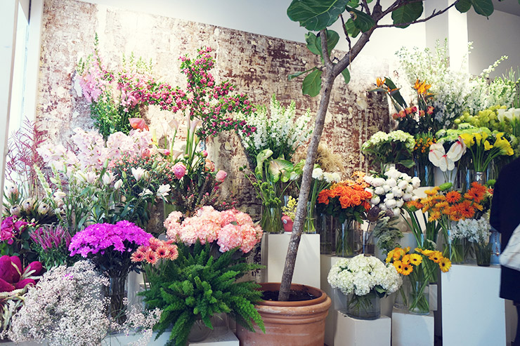 フラワー教室開業 ビジネスの仕組み作りとweb集客で売れるスクールへ 東京 世田谷 KOLME(コルメ)パリ研修2019 パリの花屋 Debaulieu デュボーリュー