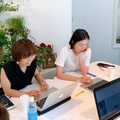 フラワー教室開業 ビジネスの仕組み作りとweb集客で売れるスクールへ 東京 世田谷 KOLME(コルメ)Le Troisワークショップ準備