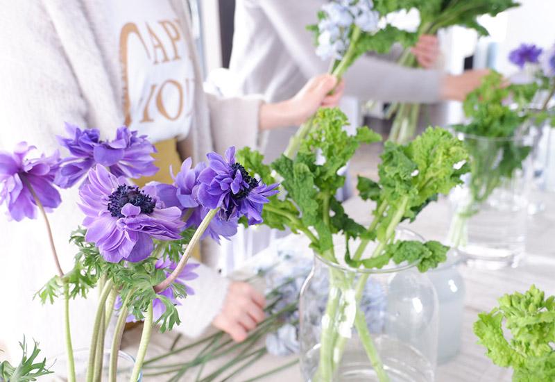 パリスタイルフラワー教室開業 ビジネスの仕組み作りとweb集客で売れるスクールへ 東京 世田谷 羽根木 KOLME(コルメ)ママでも今はじめよう、新しいこと vol.19 花の仕事がしたいから