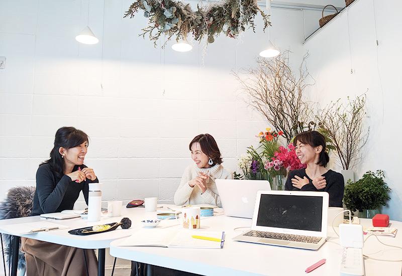 パリスタイルフラワー教室開業 ビジネスの仕組み作りとweb集客で売れるスクールへ 東京 世田谷 KOLME(コルメ)ディプロマ卒業生 フォローアップセッション レポート 2020年1月
