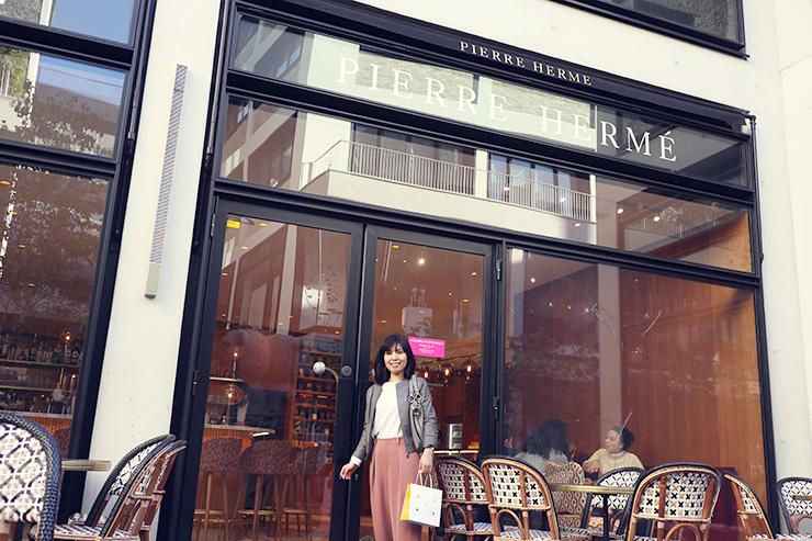 フラワー教室開業 ビジネスの仕組み作りとweb集客で売れるスクールへ 東京 世田谷 KOLME(コルメ) パリ研修レポート パリのグルメパッサージュ「beaupassage(ボーパッサージュ)」