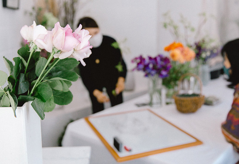 パリスタイルフラワー教室開業 ビジネスの仕組み作りとweb集客で売れるスクールへ 東京 世田谷 羽根木 KOLME(コルメ)ようこそ3月 KOLMEの一週間2021年3月①