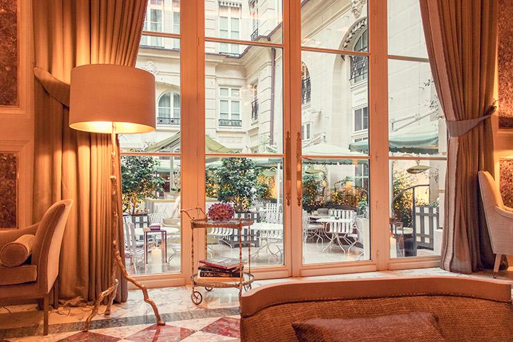 フラワー教室開業 ビジネスの仕組み作りとweb集客で売れるスクールへ 東京 世田谷 KOLME(コルメ)パリ研修2019 パリホテル装花 ホテルドゥクリヨン Hôtel de Crillon, A Rosewood Hotel ル・ジャルダン・ディヴェール アフタヌーンティー