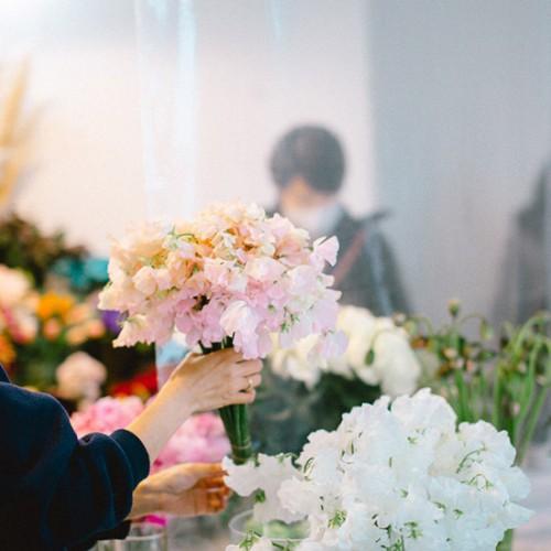 パリスタイルフラワー教室開業 ビジネスの仕組み作りとweb集客で売れるスクールへ 東京 世田谷 羽根木 KOLME(コルメ)大田市場研修からのディプロマレッスンレポート2021年2月