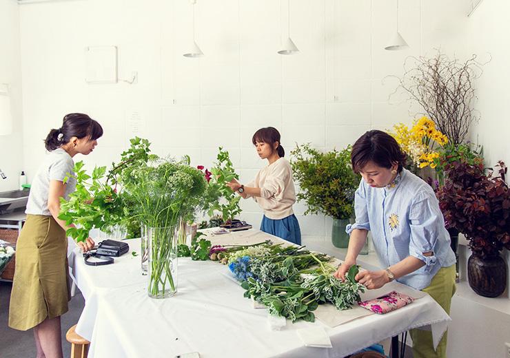 フラワー教室開業 ビジネスの仕組み作りとweb集客で売れるスクールへ 東京 世田谷 KOLME(コルメ)ディプロマレッスン レポート