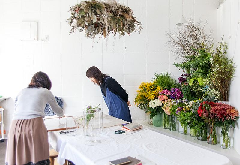 パリスタイルフラワー教室開業 ビジネスの仕組み作りとweb集客で売れるスクールへ 東京 世田谷 KOLME(コルメ)ディプロマコースレッスン レポート 2020年2月