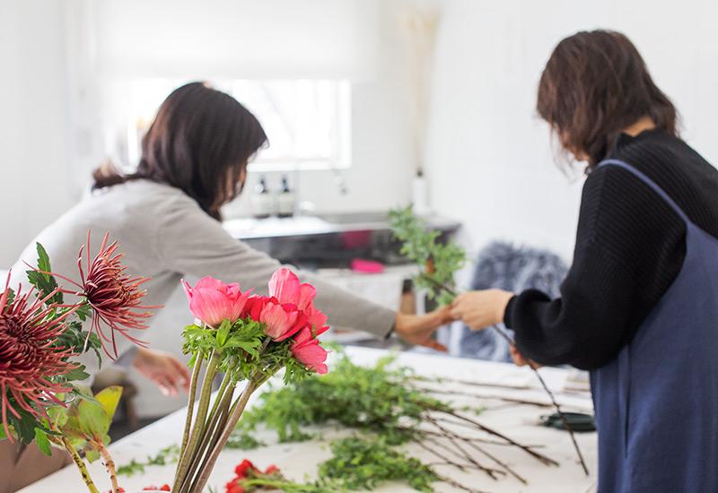 パリスタイルフラワー教室開業 ビジネスの仕組み作りとweb集客で売れるスクールへ 東京 世田谷 KOLME(コルメ)ディプロマコースレッスンディプロマ レポート 2020年2月