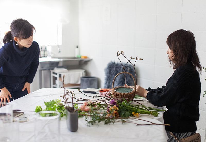 パリスタイルフラワー教室開業 ビジネスの仕組み作りとweb集客で売れるスクールへ 東京 世田谷 KOLME(コルメ)ディプロマコースレッスンディプロマ レポート 2020年1月