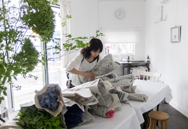 パリスタイルフラワー教室開業 ビジネスの仕組み作りとweb集客で売れるスクールへ 東京 世田谷 羽根木 KOLME(コルメ)ディプロマコースレッスンレポート 2020年7月