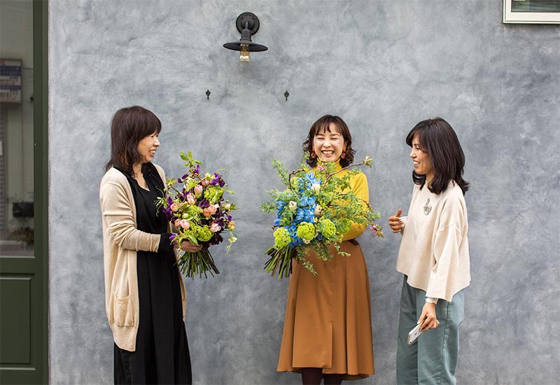 パリスタイルフラワー教室開業 ビジネスの仕組み作りとweb集客で売れるスクールへ 東京 世田谷 KOLME(コルメ)ディプロマコースレッスンレポート 2020年3月