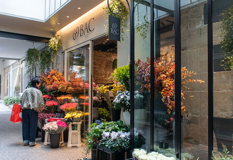 パリスタイルフラワー教室開業 ビジネスの仕組み作りとweb集客で売れるスクールへ 東京 世田谷 KOLME(コルメ)パリの花屋さん パリ7区・アンヴァリドとバック通りで花屋さんをめぐってきました Le 69 Bac