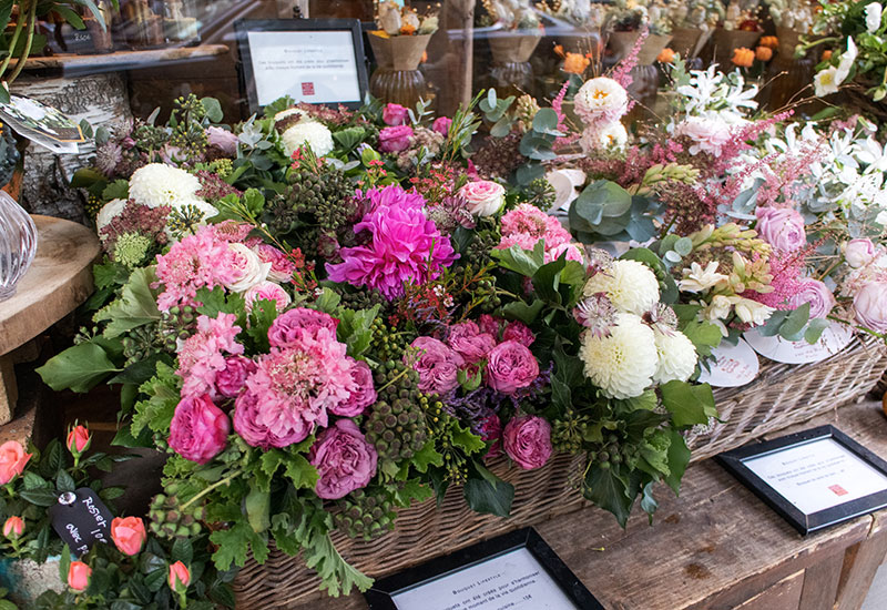 パリスタイルフラワー教室開業 ビジネスの仕組み作りとweb集客で売れるスクールへ 東京 世田谷 KOLME(コルメ)パリの花屋さん パリ7区・アンヴァリドとバック通りで花屋さんをめぐってきました Aoyama Flower Market