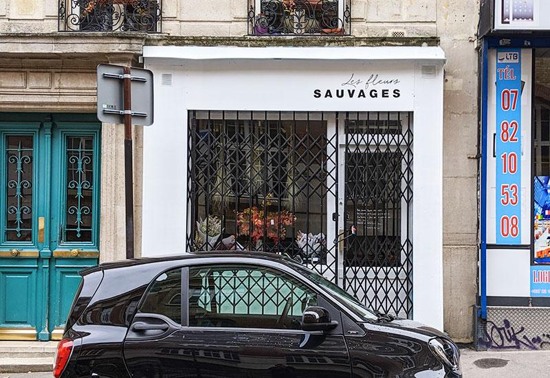パリスタイルフラワー教室開業 ビジネスの仕組み作りとweb集客で売れるスクールへ 東京 世田谷 KOLME(コルメ)パリの花屋さん パリ18区・モンマルトルの丘の北東エリアで花屋さんをめぐってきました Les Fleurs Sauvages