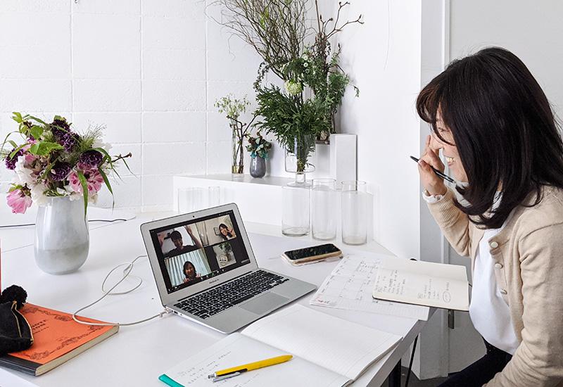 パリスタイルフラワー教室開業 ビジネスの仕組み作りとweb集客で売れるスクールへ 東京 世田谷 KOLME(コルメ)ディプロマ卒業生フォローアップセッション2020年3月