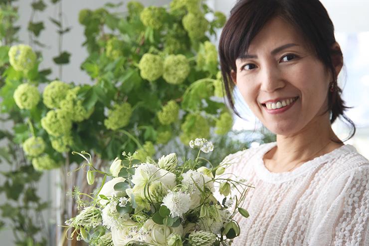6/1 パリスタイルフラワーアレンジメントとフランス菓子・料理イベント in 広島