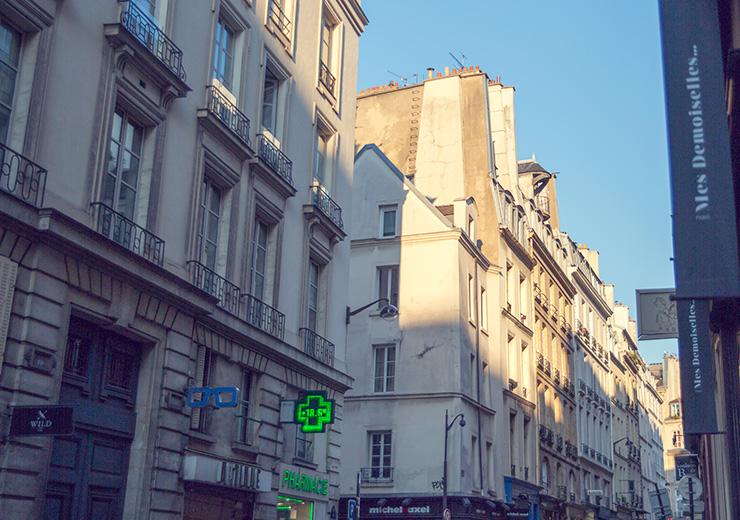 パリスタイルフラワー教室 KOLME(コルメ)パリ研修 マレ地区 お散歩ツアー
