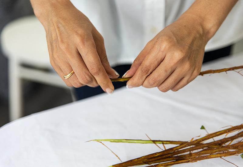 パリスタイルフラワー教室開業 ビジネスの仕組み作りとweb集客で売れるスクールへ 東京 世田谷 羽根木 KOLME(コルメ)オンラインレッスンの花材が届いたあとの簡単水揚げ方法