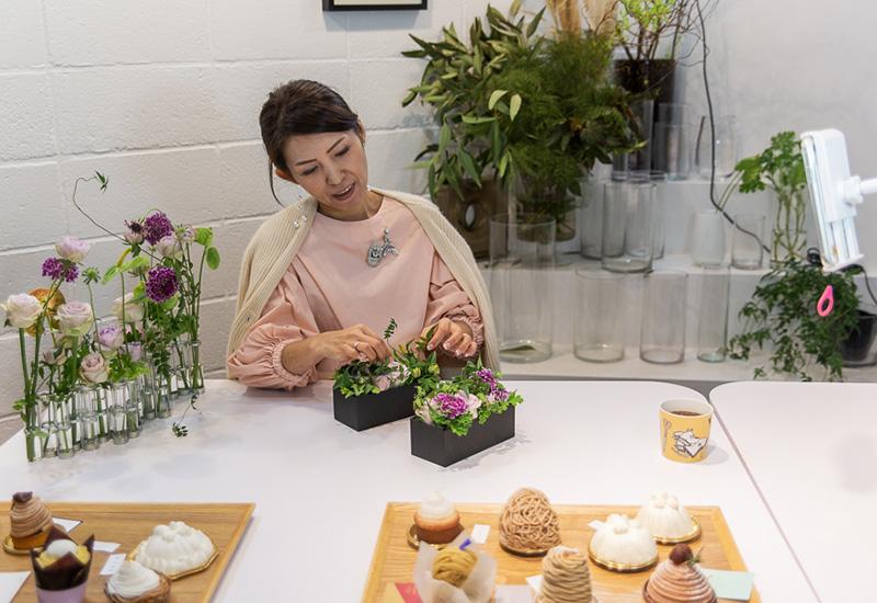 パリスタイルフラワー教室開業 ビジネスの仕組み作りとweb集客で売れるスクールへ 東京 世田谷 羽根木 KOLME(コルメ)レポート「都内の美味しいモンブラン食べ比べ 2020年度版」インスタライブ
