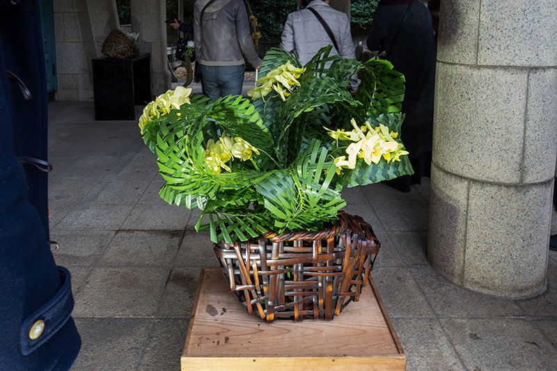 フラワー教室開業 ビジネスの仕組み作りとweb集客で売れるスクールへ 東京 世田谷 KOLME(コルメ)パリスタイルフラワーアレンジメント 明治神宮「ダニエル・オストの花」を見てきました