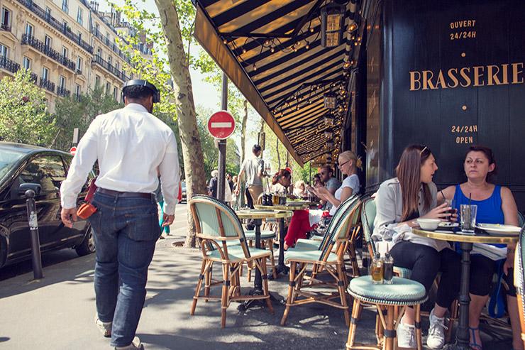 パリスタイルフラワー教室 KOLME(コルメ)パリのカフェ