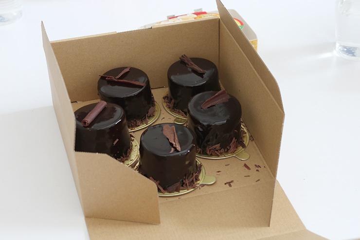 フラワー教室開業 ビジネスの仕組み作りとweb集客で売れるスクールへ 東京 世田谷 KOLME(コルメ)パリ部 ミーティング レポート La Petite Cuielle Akiko先生 特製 チョコレートムース