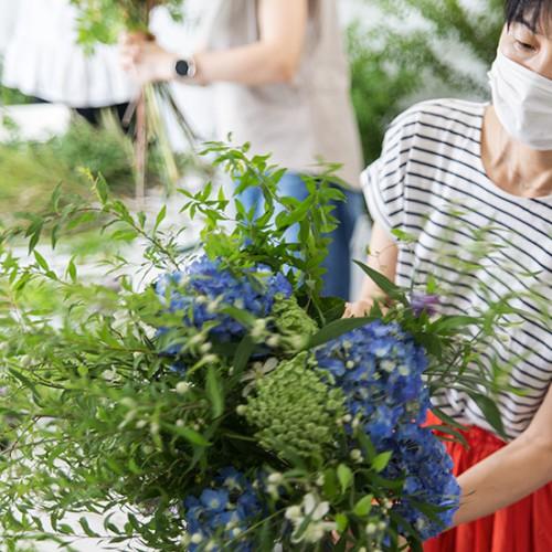 パリスタイルフラワー教室開業 ビジネスの仕組み作りとweb集客で売れるスクールへ 東京 世田谷 KOLME(コルメ)プレディプロマコースレッスンレポート 2020年6月