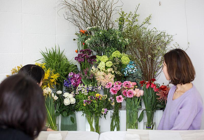 パリスタイルフラワー教室開業 ビジネスの仕組み作りとweb集客で売れるスクールへ 東京 世田谷 KOLME(コルメ)プレディプロマコースレッスン レポート 2020年2月