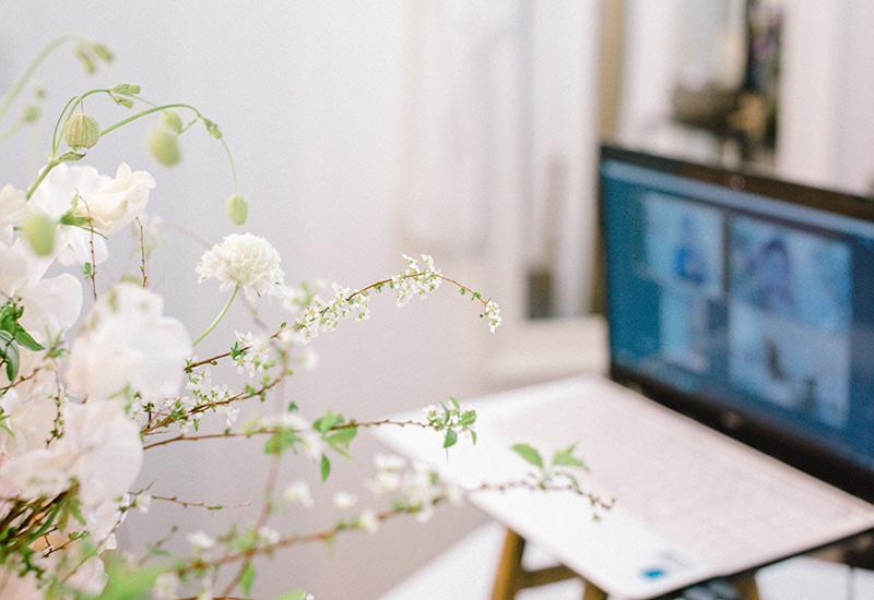 パリスタイルフラワー教室開業 ビジネスの仕組み作りとweb集客で売れるスクールへ 東京 世田谷 羽根木 KOLME(コルメ)ピンクとフリルでロマンチック♪ 2021年1月レギュラーレッスンレポート