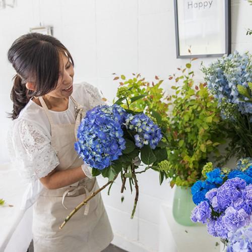 パリスタイルフラワー教室開業 ビジネスの仕組み作りとweb集客で売れるスクールへ 東京 世田谷 KOLME(コルメ)レギュラーレッスンレポート 2020年6月