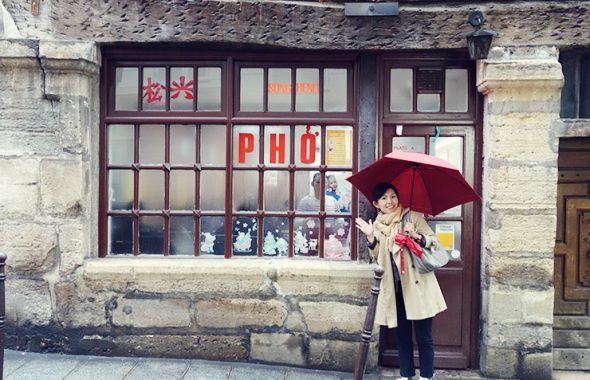 フラワー教室開業 ビジネスの仕組み作りとweb集客で売れるスクールへ 東京 世田谷 KOLME(コルメ)パリ研修2019 パリのランチ song heng(ソンエン)ボブン