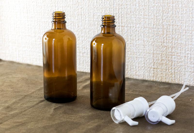 パリスタイルフラワー教室開業 ビジネスの仕組み作りとweb集客で売れるスクールへ 東京 世田谷 羽根木 KOLME(コルメ)遮光瓶を洗いたい